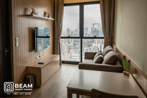 For RentCondoSukhumvit, Asoke, Thonglor : AT019_P 💖Ashton Asoke💖**Beautiful room, fully furnished, ready to move in**Convenient travel near BTS