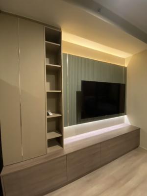 เช่าคอนโดรัชดา ห้วยขวาง : ห้องใหม่ แต่งครบ สวยจัดเต็ม 13,500 บาท!!!