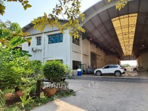 ขายโกดังเอกชัย บางบอน : ขายด่วน!! โกดัง 4 หลัง พร้อมบ้านเดี่ยว 2 ชั้น บนพื้นที่ 4 ไร่ โกดังสภาพดี แข็งแรง สะอาด