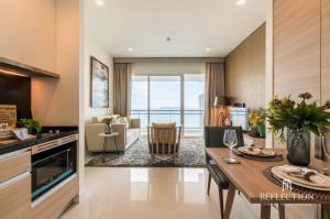 ขายคอนโดพัทยา บางแสน ชลบุรี : 🔥🔥 SPECIAL DEAL! FOR SALE Reflection Jomtien Beach Pattaya (1 Bedroom) Good price and Nice location!!! 🔥🔥