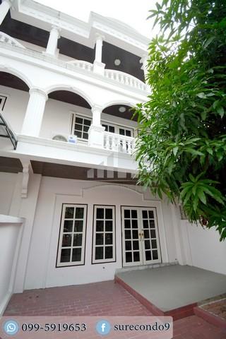 For RentTownhouseLadprao, Central Ladprao : 0034-A😊😍 For RENT&SELL ให้เช่า&ขาย ทาวน์เฮ้าส์ 3 ชั้น,🚪6 ห้องนอน🚄ใกล้ MRT สุทธิสาร🔔พื้นที่บ้าน:30.00ตร.วา🔔พื้นที่ใช้สอย:240.00ตร.ม.💲เช่า:40,000฿💲ขาย:6,500,000฿📞O99-5919653✅LineID:@sureresidence