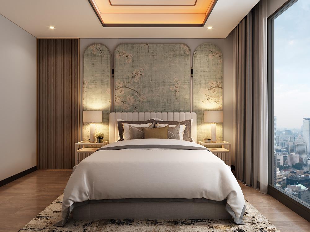 For SaleCondoWongwianyai, Charoennakor : The Residences At Mandarin Oriental ♛ 2 Bedrooms Conner Unit / 151 Sqm / Floor 30++ / 68.75 Millions 【065-4742891】