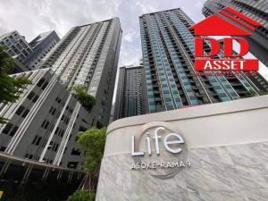 เช่าคอนโดพระราม 9 เพชรบุรีตัดใหม่ : ให้เช่าคอนโดใหม่ Life Asoke Rama9 ห้องใหม่ ใกล้ mrt พระราม 9 เพียง 300 เมตร
