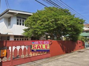 For RentHouseRamkhamhaeng, Hua Mak : For rent , 2 storey detached house, Thai Siri Nuea Village, 3 bedrooms, 56 square wah, near Town in Town, Lat Phrao