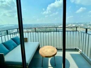 เช่าคอนโดพระราม 3 สาธุประดิษฐ์ : 🔥ห้องวิวแม่น้ำเต็มๆ🔥ให้เช่า คอนโด Udelight residence riverfront พระราม3 ขนาด2ห้องนอน เพียงเดือนละ 25,000บาท