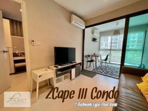 For RentCondoPhuket, Patong : ZCape III Condo Phuket 2 Bedroom For Rent