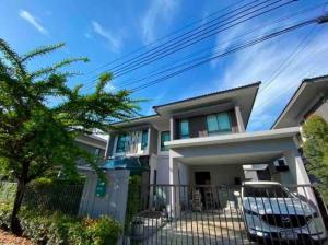 ขายบ้านอ่อนนุช อุดมสุข : บ้านเดี่ยว 3 ห้องนอน #สไตล์โมเดิร์น หมู่บ้านวิรัณยา วงแหวน-อ่อนนุช
