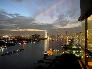 เช่าคอนโดพระราม 3 สาธุประดิษฐ์ : ว่าง ให้เช่า ห้อง Riverfront U delight residence riverfront