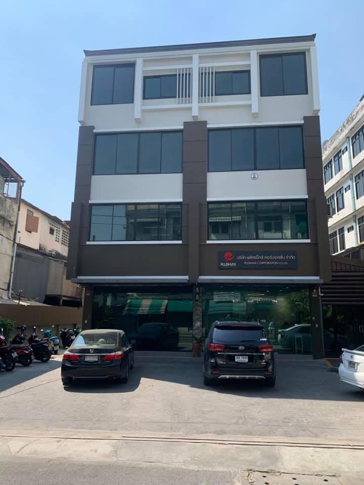 เช่าตึกแถว อาคารพาณิชย์ท่าพระ ตลาดพลู วุฒากาศ : NA-B8000 ให้เช่าสำนักงาน มีที่จอดรถ ย่านซอย เทอดไท 33  ตลาดพูล