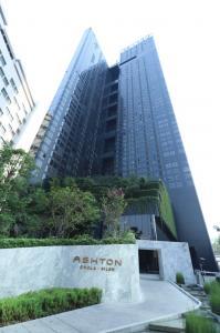 For RentCondoSiam Paragon ,Chulalongkorn,Samyan : Rent Ashton Chula-Silom, size 34 sqm., 1 bedroom, south west, river view