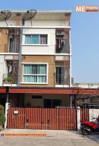 For SaleTownhousePattanakan, Srinakarin : Sell New Corner Townhouse 3fl Pattanakarn-Onnut  and Ready to move in Near BTS Onnut TC19-32