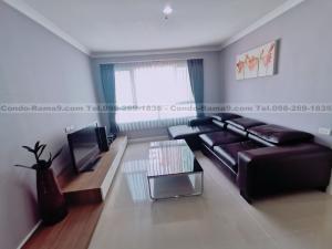 For RentCondoRama9, RCA, Petchaburi : RENT !! Condo Lumpini Place, MRT Rama 9, 2 Bed, A Bl., 18 Fl., Area 71 sq.m., Rent 20,000 .-