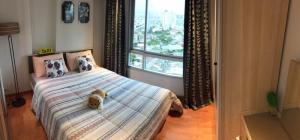 For RentCondoThaphra, Talat Phlu, Wutthakat : The President Sathorn-Ratchapruek For rent, 1 bedroom, east side + washing machine, new room, fully furnished, 19th floor, facing east, next to MRT & BTS Bangwa Station