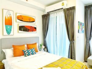 For RentCondoRatchadapisek, Huaikwang, Suttisan : 🔥 (Condo for rent) Chapter One ECO Ratchada - Huaikwang ( Ratchada - Huai Khwang ) Beautiful room, cheap price, central location, very good location, in the heart of Ratchada