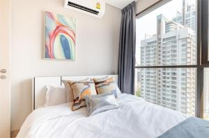 For RentCondoRama9, RCA, Petchaburi : 🔥 (Condo for rent) Lumpini Suite Phetchaburi - Makkasan (Phetchaburi - Makkasan) 2 bedrooms, complete electrical appliances, cheap price, good location, near Airport link and MRT Phetchaburi