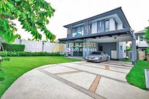 For SaleHouseSamrong, Samut Prakan : Selling at a special price!! Luxury detached house with 4 bedrooms - Burasiri Wongwaen, On Nut -