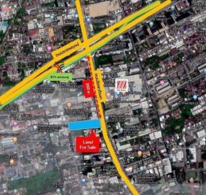 For SaleLandThaphra, Talat Phlu, Wutthakat : Land for Sales4 RaisGood location near BTS Talat Phlu