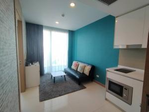 For RentCondoPattaya, Bangsaen, Chonburi : For rent 12,000 ฿/month 35 sq m. Condo Riviera Wong Amat.