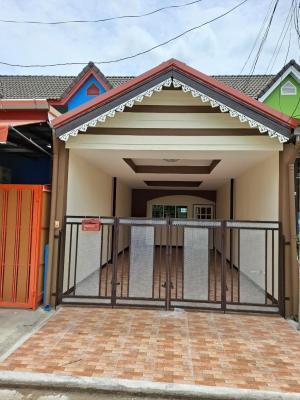 ขายทาวน์เฮ้าส์/ทาวน์โฮมมีนบุรี-ร่มเกล้า : บ้านราคาถูกหนองจอก สวย รีโนเวทใหม่ทั้งหลัง