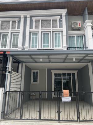 เช่าทาวน์เฮ้าส์/ทาวน์โฮมสำโรง สมุทรปราการ : บ้านใหม่ให้เช่า สุขุมวิท ลาซาล ตกแต่งพร้อมอยู่