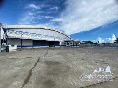 For RentFactorySamrong, Samut Prakan : Warehouse for rent, 3,750 sq.m. in Bang Phriang Subdistrict, Bang Bo District, Samut Prakan.