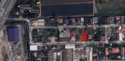 For SaleLandNawamin, Ramindra : ขายที่ดิน 100 ตรว. เหมาะปลูกบ้าน ออฟฟิต ใกล้ขึ้นลงท่งด่วน สุขาภิบาล 5