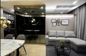 For RentCondoSiam Paragon ,Chulalongkorn,Samyan : Ashton Chula-Silom for rent, 2 bedrooms, 2 bathrooms, size 57.72 square meters, 38th floor, corner room