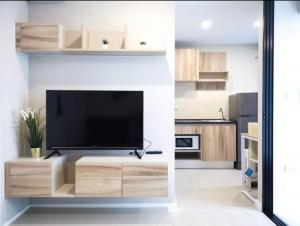 เช่าคอนโดมีนบุรี-ร่มเกล้า : 👍For Rent 👍 The cube plus มีนบุรี ห้องสวย มีเครื่องซักผ้า เฟอร์ครบ พร้อมอยู่ ชั้น8 ทักเลยค่า