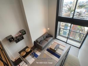 เช่าคอนโดสีลม ศาลาแดง บางรัก : ADASH-066ให้เช่า 1 ห้องนอน Duplex - The Lofts Silom ( เดอะ ลอฟท์ สีลม )