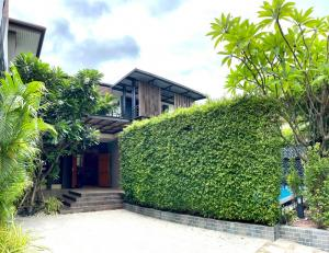 For RentHouseOnnut, Udomsuk : LBH0218 2 storey detached house for rent with salt water swimming pool in Soi Pridi 14