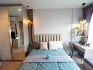 For RentCondoRama9, RCA, Petchaburi : ให้เช่า คอนโด Life Asoke Hype 26 ตรม. Studio ชั้น 17 ตกแต่งสวย ห้องใหม่เอี่ยม Fully Furnished K2267