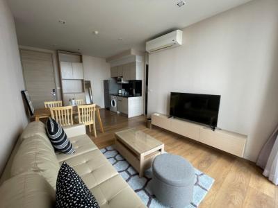 เช่าคอนโดสุขุมวิท อโศก ทองหล่อ : Park24, 2Bed 2Bath, 55.50 Sqm. 40th floor, Beautiful view, New, fully furnished for rent