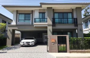 ขายบ้านสำโรง สมุทรปราการ : ขายถูก ขายด่วน บ้านเดี่ยว 2ชั้น ภัสสร เพรสทีจ บางนา-สุวรรณภูมิ, บ้านใหม่มาก ยังไม่เคยอยู่