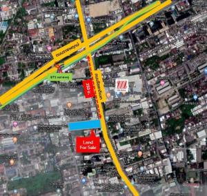 ขายที่ดินท่าพระ ตลาดพลู วุฒากาศ : Unveiling Excellent Location.