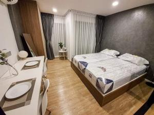 เช่าคอนโดรังสิต ธรรมศาสตร์ ปทุม : [ให้เช่า] คอนโด Kave Town Space คอนโดที่ใกล้ ม. กรุงเทพ รังสิต 1 Bedroom Extra 1 ห้องนอน 1ห้องน้ำ ขนาด (29.36 ตร.ม.)