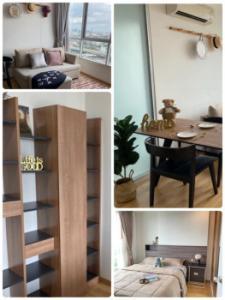 เช่าคอนโดพัฒนาการ ศรีนครินทร์ : ให้เช่า คอนโด U Delight Residence พัฒนาการ-ทองหล่อ 35 ตรม. 1 นอน ชั้น 19 ห้องสวย วิวดีมาก Fully Furnished K2295