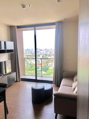 For RentCondoOnnut, Udomsuk : For rent The Line Sukhumvit 71 condo with only 510 meters to Phrakanong BTS