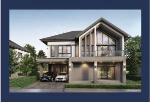ขายบ้านพัฒนาการ ศรีนครินทร์ : ขายบ้านเดี่ยว Bangkok Boulevard Rama9 ขนาด 283 Sq.m 4 bed 4 bath ราคาเพียง 27.99 MB เท่านั้น !!!