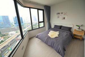 เช่าคอนโดลาดพร้าว เซ็นทรัลลาดพร้าว : 🔥 ให้เช่าคอนโด Life Ladprao ตึก A ห้องมุม สวยมาก วิวดี 1 ห้องนอน พร้อมเฟอร์นิเจอร์เครื่องใช้ไฟฟ้าครบเซต