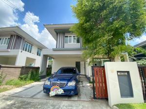 For SaleHouseChengwatana, Muangthong : [For Sale Very Cheap ]  :: Detached House 2 Floors. Behind, 296  Sq.m.  Saransiri (Tiwanon -Chaengwattana 2.) Willing to sell at a loss.