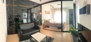 For RentCondoPinklao, Charansanitwong : 🔥 (Condo for rent) Unio Charan 3 (Unio Charan 3) beautiful room, built-in in the whole room, special price, complete electrical appliances, separate bedroom, separate kitchen, ready to move in