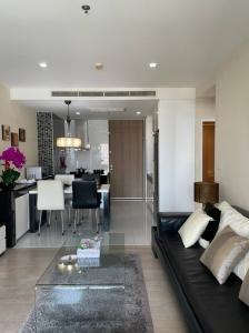 For RentCondoSukhumvit, Asoke, Thonglor : Noble Remix, next to BTS Thonglor, 2 bedrooms for rent.