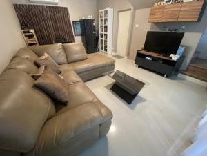 For RentTownhouseRama5, Ratchapruek, Bangkruai : For rent!!!  Baan Klang Muang Ratchaphruek-Rama 5, very new townhome, 3 floors, 3 bedrooms, 3 bathrooms, 1 room, usable area 141 sq. m., land area 17.0 sq.wa.