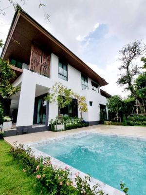 เช่าบ้านพัฒนาการ ศรีนครินทร์ : Brand new Single House Pool Villa , Pattanakarn