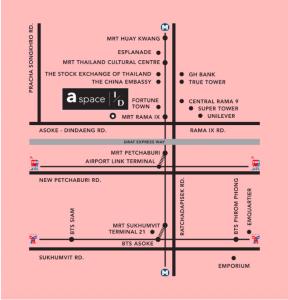 For RentCondoRama9, Petchburi, RCA : A space ID asoke-ratchada Line ID: @home123 (with @ too)