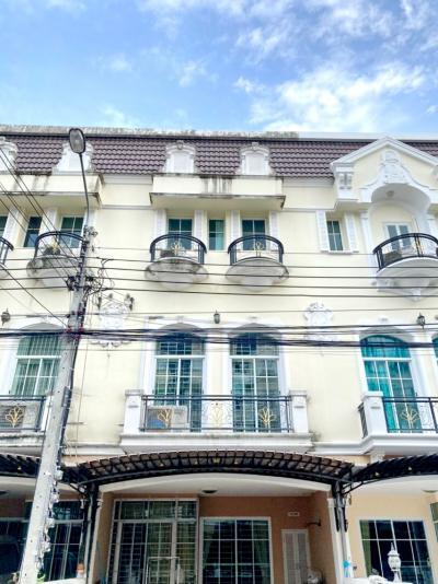 For RentTownhouseRama9, RCA, Petchaburi : H0005-A 😊 For RENT ให้เช่า ทาวน์เฮ้าส์  3 ชั้น,🚪3 ห้องนอน 🏢 The Metro พระราม 9 🔔พื้นที่บ้าน:18.00ตร.วา🔔พื้นที่ใช้สอย:216.00ตร.ม.*โดยประมาณ💲เช่า:24,000฿📞O86-454O477, O99-5919653 ✅LineID:@sureresidence