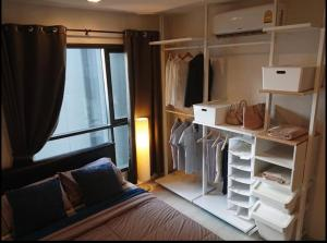 For RentCondoOnnut, Udomsuk : Condo for rent Life Sukhumvit 48, very good location, convenient transportation, ready to move in