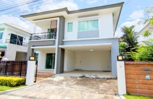 ขายบ้านราษฎร์บูรณะ สุขสวัสดิ์ : ขาย บ้านเดี่ยว เดอะ แกรนด์ The Grand วงแหวน-ประชาอุทิศ ทุ่งครุ 191 ตรม. 52.5 ตร.วา สภาพเหมือนใหม่ ไม่มีผู้อยู่อาศัย