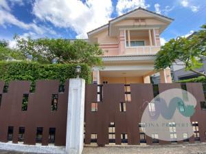 For SaleHouseLadkrabang, Suwannaphum Airport : LBH0223 2 storey detached house for sale, Perfect Place Village, Sukhumvit 77 near Suvarnabhumi Airport.