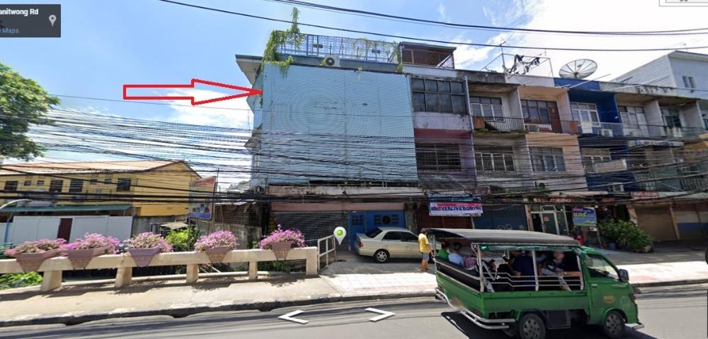 ขายตึกแถว อาคารพาณิชย์ปิ่นเกล้า จรัญสนิทวงศ์ : ขายอาคารพาณิชย์ 3 ชั้น 167 ตรว. พร้อมใบอนุญาต รง. 4 ถนนจรัญสนิทวงศ์